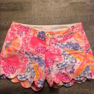 "Lilly Pulitzer Buttercup Short 5""inseam"